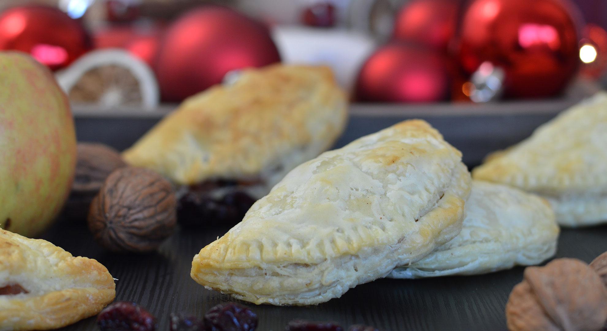 Rezept für Bratapfeltaschen. | www.dearlicious.com