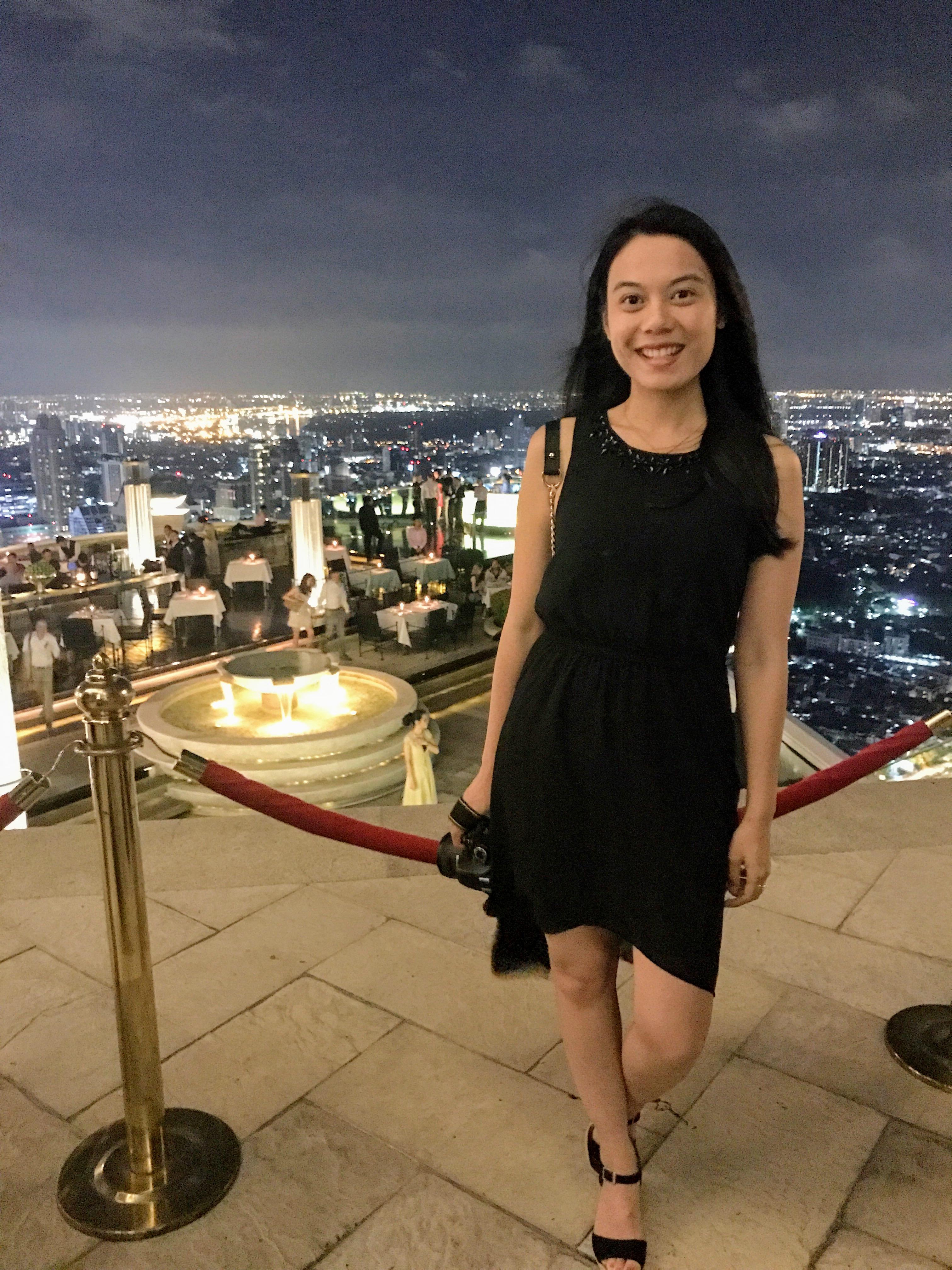 Bangkok-Tipps für Skeptiker | Lebua State Hotel - Sirocco Bar | www.dearlicious.com | Dear Nitjakan Bunbuamas
