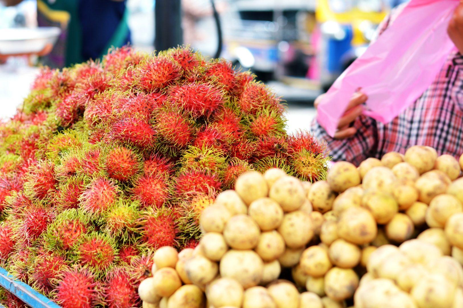 5 exotische Früchte aus Thailand - Rambutan| www.dearlicious.com