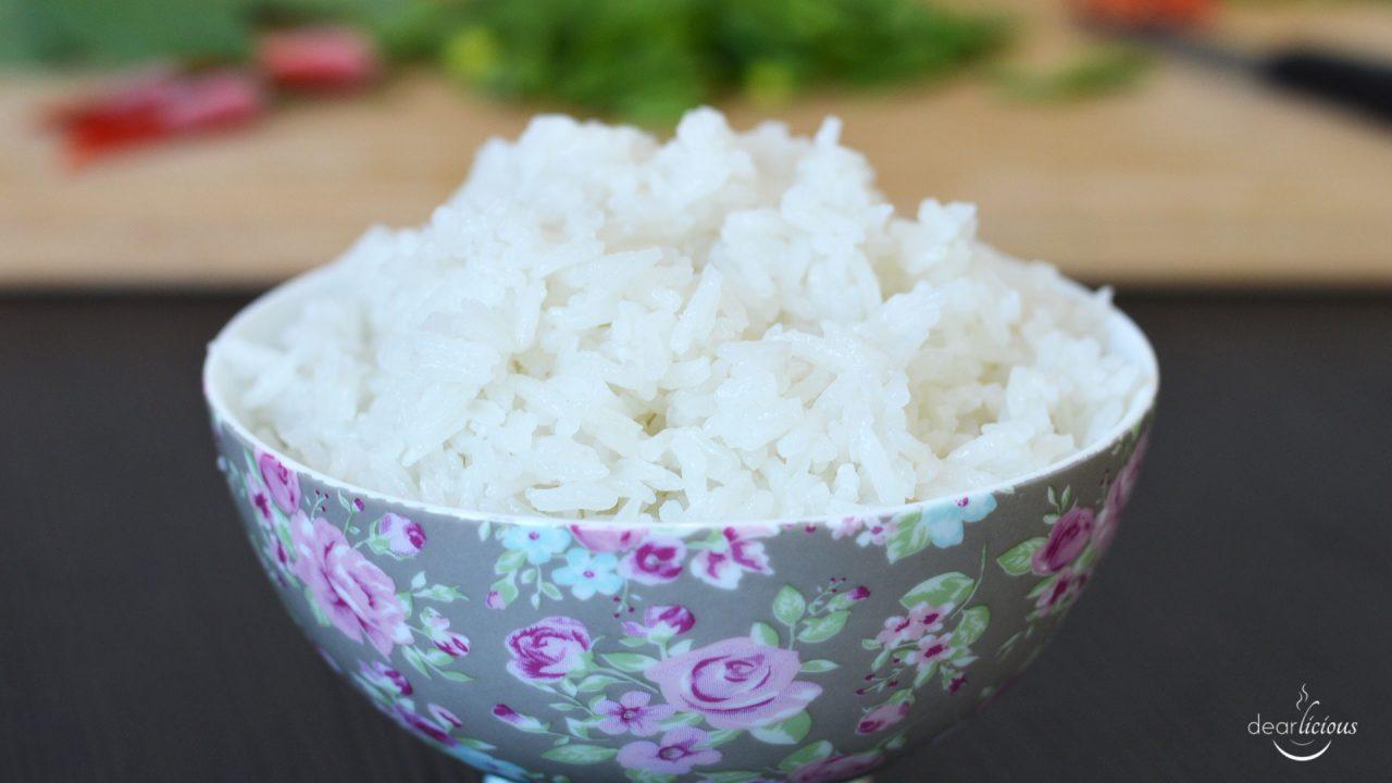 Rezept für Kokosreis | www.dearlicious.com