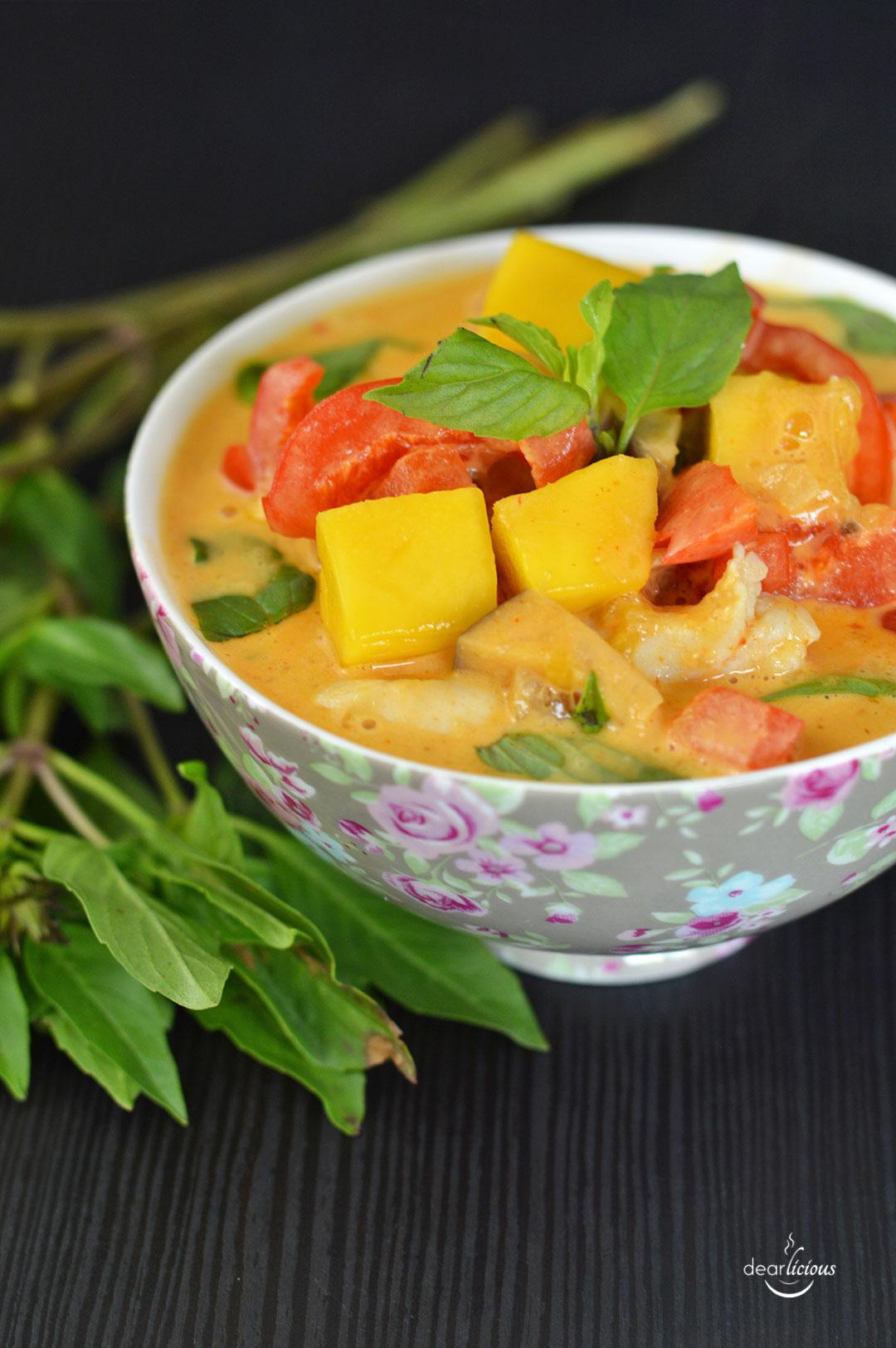 Rezept für Mango-Curry thailändisch | www.dearlicious.com