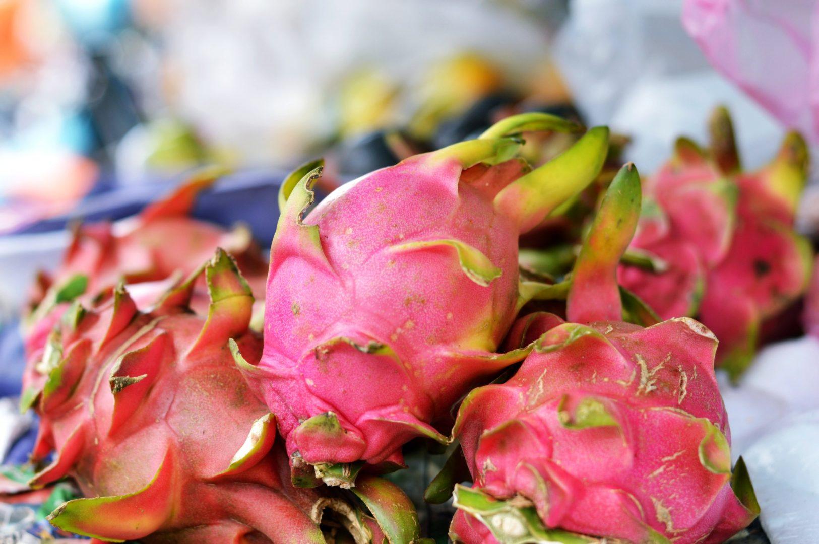 5 exotische Früchte aus Thailand - Drachenfrucht| www.dearlicious.com
