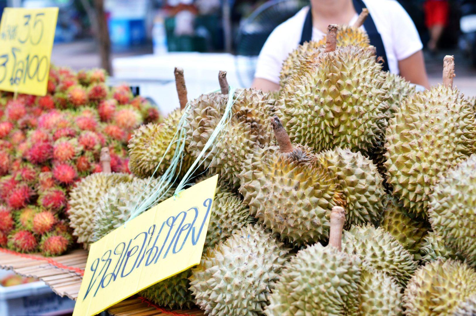 5 exotische Früchte aus Thailand - Durian| www.dearlicious.com