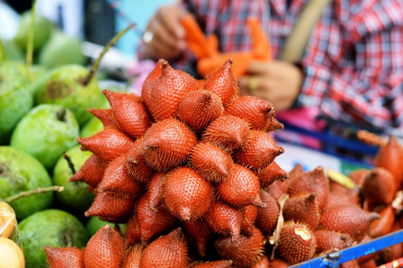 5 exotische Früchte aus Thailand - Schlangenfrucht| www.dearlicious.com