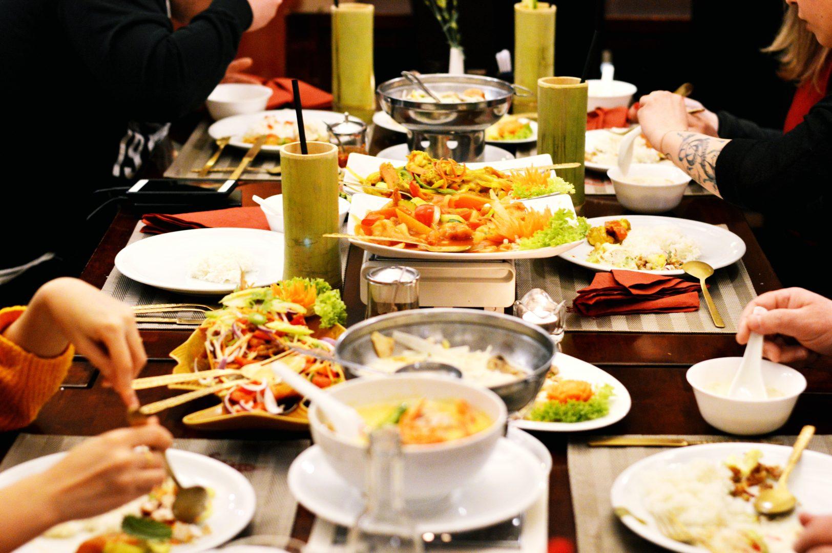 Familienessen im Tamrap Thai-Restaurant in Koblenz | www.dearlicious.com