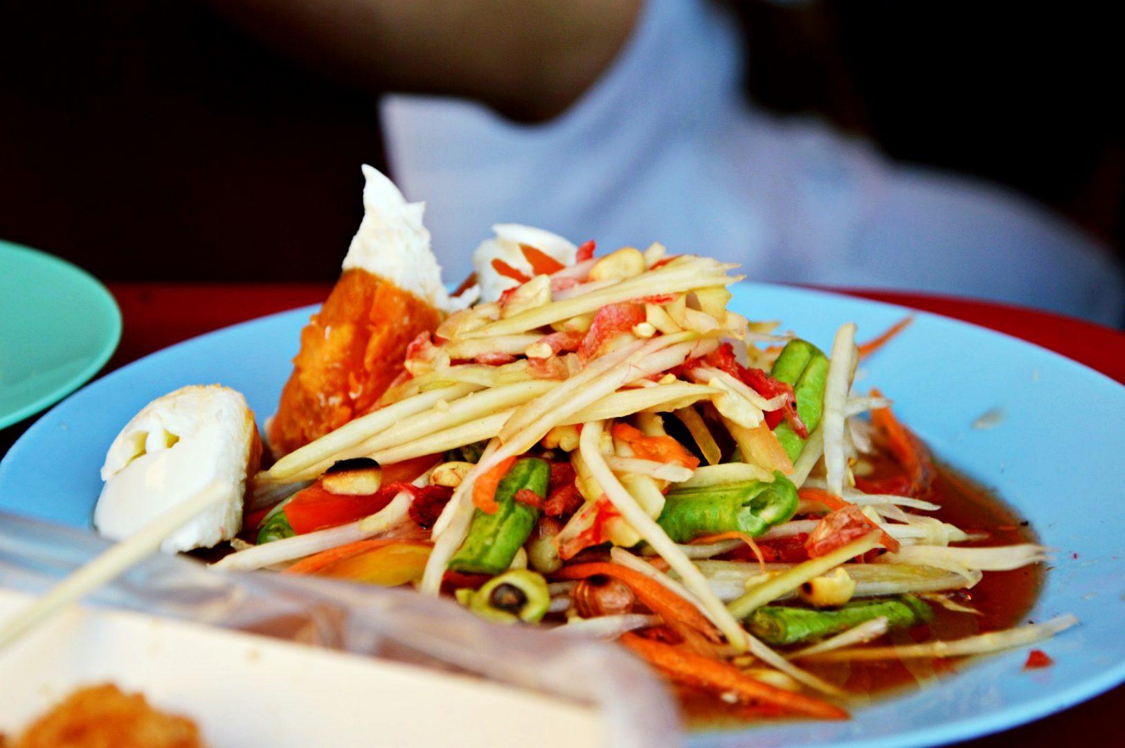 Das musst du in Thailand essen: Som Tam Thai | www.dearlicious.com