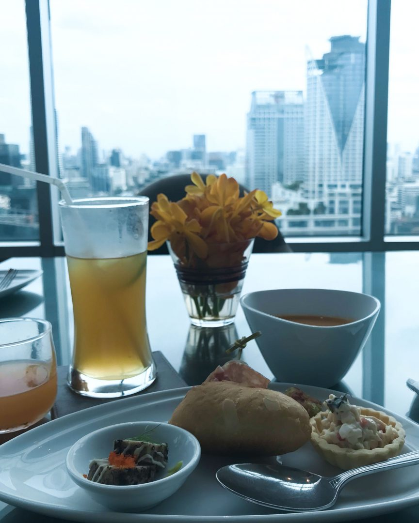 Club-Lounge im Amari Watergate Bangkok - Hotel Review | www.dearlicious.com