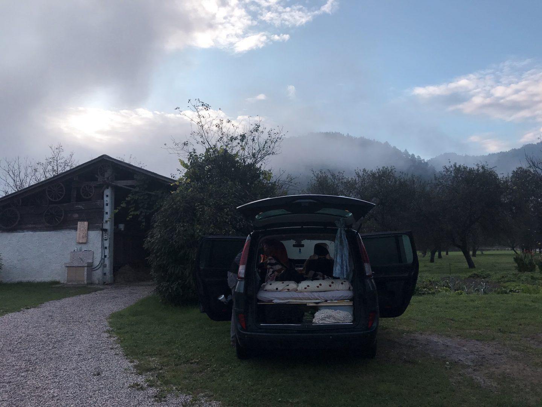 Reisegadget für Camping: Luftmatratze