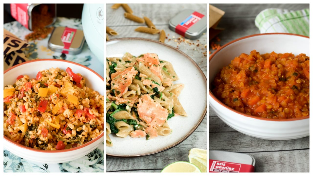 Rezepte für One-Pot-Gerichte aus dem Reiskocher | www.dearlicious.com